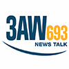 3AW, 693 AM, Australia Live